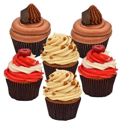 Six Delicious Cupcakes: Order Cupcakes