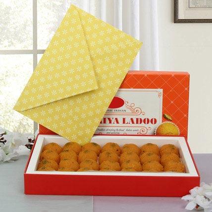 Box of Motichoor Laddoo: Send Sweets in Ajman