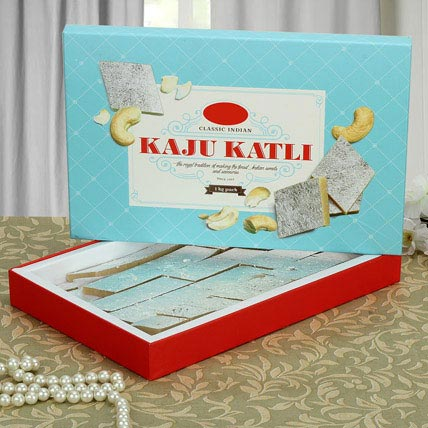 Box of Kaju Katli:  Sweets Delivery