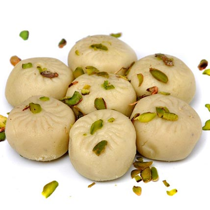 Enticing Safed Peda: Indian Sweets