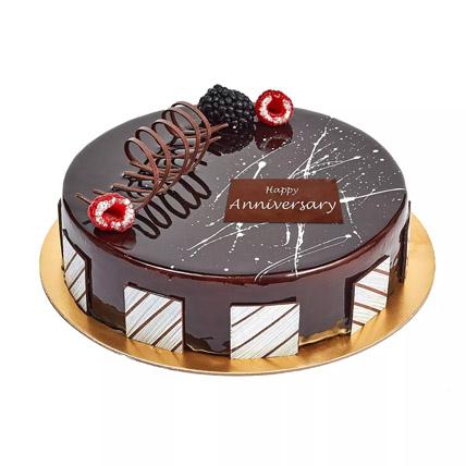 Chocolate Truffle Anniversary Cake: Anniversary Cakes