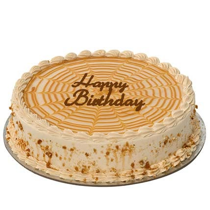 Butterscotch Birthday Cake: Birthday Cakes