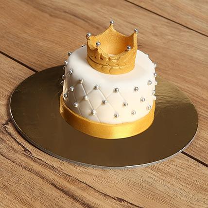 Designer Crowned Mono Cake: Mono Cakes