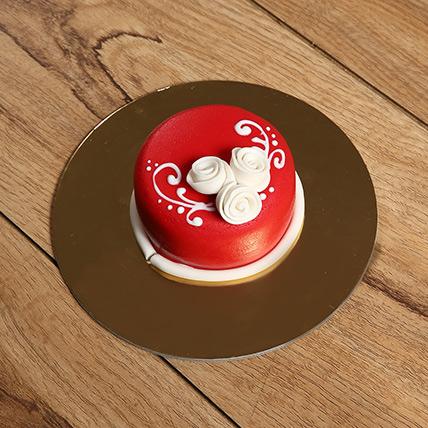 Designer Floral Mono Cake: Mono Cakes