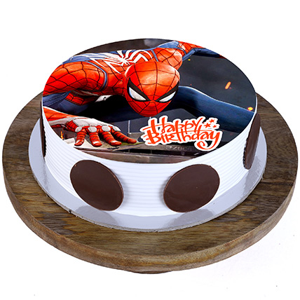 Spiderman Cake: Cakes Delivery in Dubai