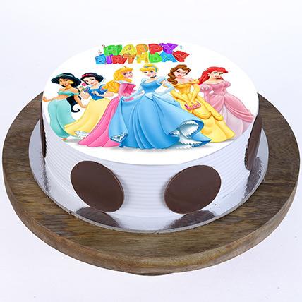 Phenomenal Princess Cake Princess Elsa Cake Sofia The First Cake Ferns Funny Birthday Cards Online Aboleapandamsfinfo