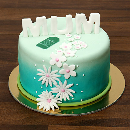 Mothers Day Fondant Cake 1 Kg: Mothers Day Cake
