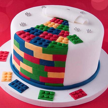 The Lego Blocks Cake 3 Kg: 3D Cakes Dubai