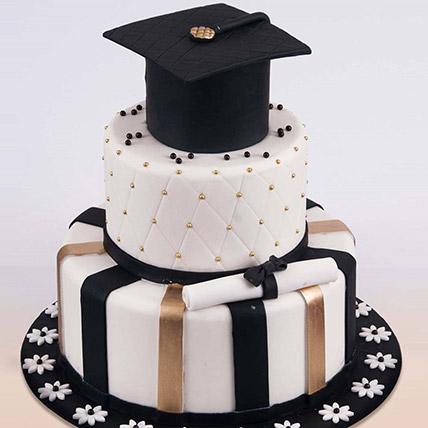 Graduation Hat Cake 6 Kg: Graduation Cakes