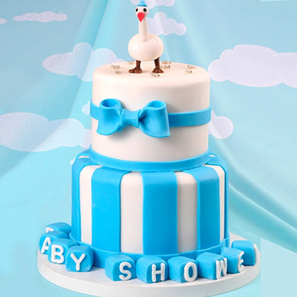 Baby Shower Duck Theme Cake 5 Kg: 3D Cakes