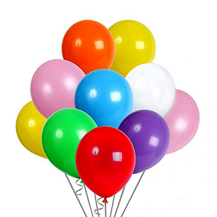 Colourful Helium Balloons: Balloons