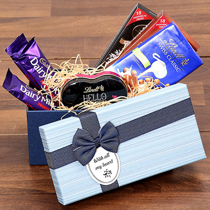 Chocolaty Gift Box: 1 Hour Gift Delivery