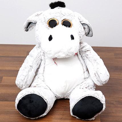 Lovable Grey Teddy Bear: Soft Toys