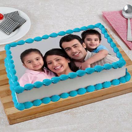 Tempting Photo Cake: Anniversary Photos Cakes