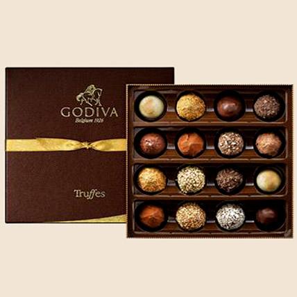 Godiva Truffle Box 16 Pcs: Godiva Chocolate Dubai