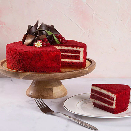 4 Portions Red Velvet Cake: Cakes Delivery in Sharjah