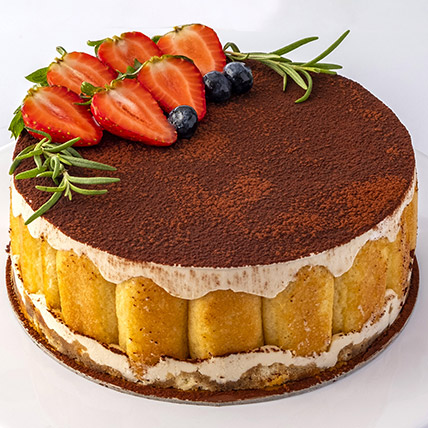 4 Portions Tiramisu Cake: Cakes Delivery in Abu Dhabi