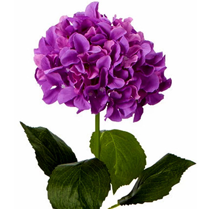Bunch of 5 Artificial Purple Hydrangea: Gifts for Capricornians