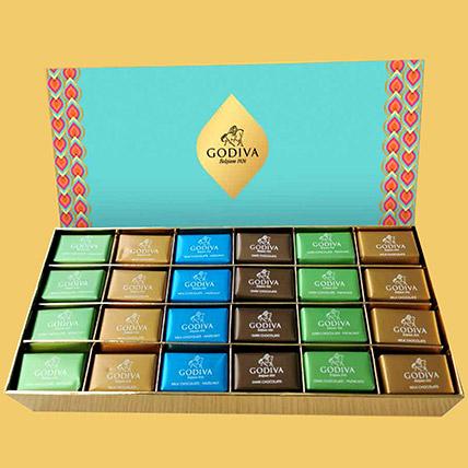 Scrumptious Godiva Pralines 48 Pcs: Diwali Chocolate Hampers
