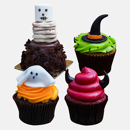 Delicious Spooky Chocolate Cupcakes: Halloween Cakes