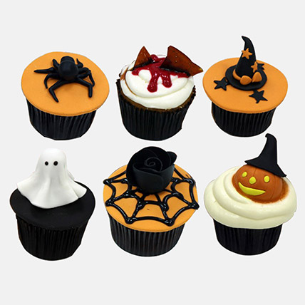 Halloween Themed Chocolate Cupcakes: Halloween Cakes