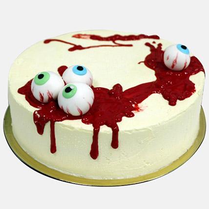 Spooky Eye Balls Halloween Cake 1Kg: Halloween Gifts