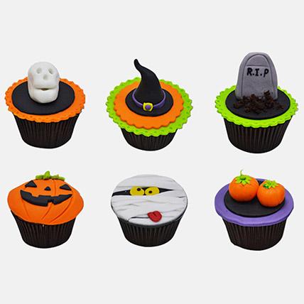 Trick Or Treat Cupcakes 6Pcs: Halloween Cupcake Ideas