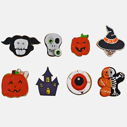Boo Scary Cookies 8Pcs: Cookies