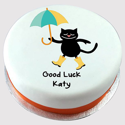 Adorable Good Luck Cake: Cat Cakes
