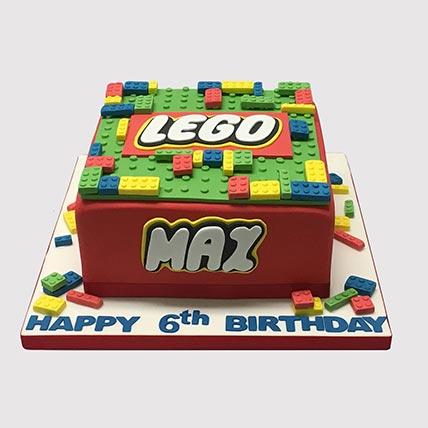Online Lego Cake Lego Birthday Cake Lego Batman Cake Ferns N Petals