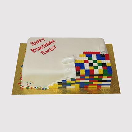 Colourful Lego Cake: Lego Cakes