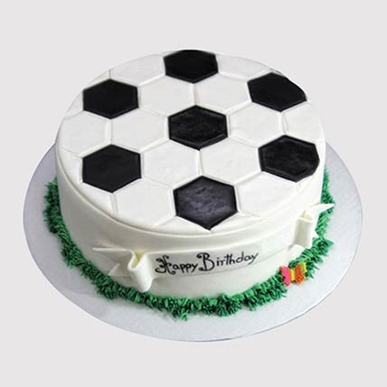 Delicious Football Cake: Football Theme Cake