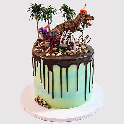 Designer Dinosaur Cake: Dinosaur Cakes