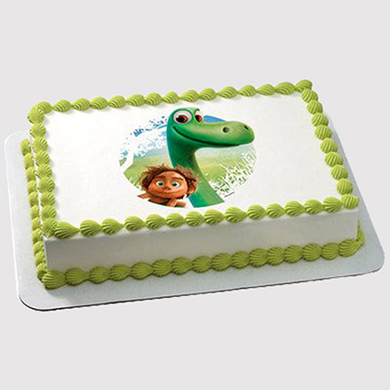 Dinosaur Photo Cake: Dinosaur Theme Cakes