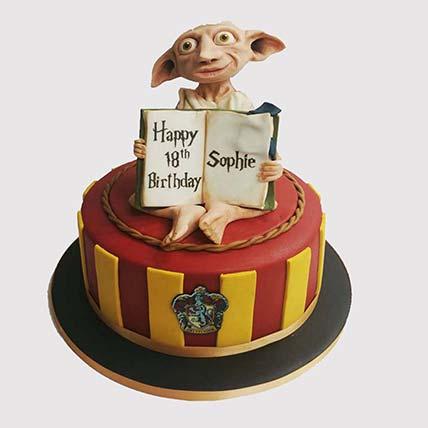 Dobby The House Elf Cake: Harry Potter Themed Cakes