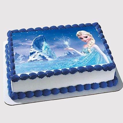 Elsa Photo Cake: Frozen Birthday Cake