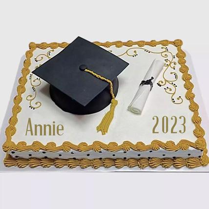 Graduation Degree Cake: Graduation Cakes