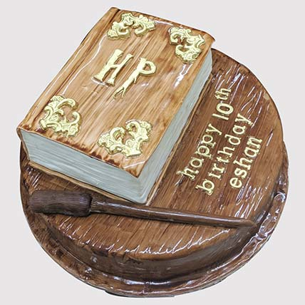 Harry Potter Magical Book Cake: Harry Potter Themed Cakes