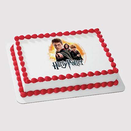 Harry Potter Squad Photo Cake: Harry Potter Cakes