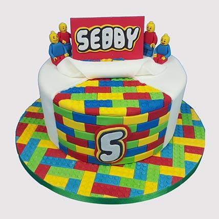 Legoland Themed Cake: Lego Birthday Cake