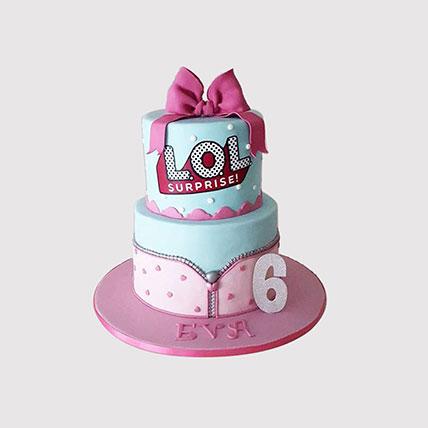 LOL Surprise 2 Tier Cake: LOL Cakes