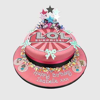 Lol Surprise Party Theme Cake: LOL Cakes