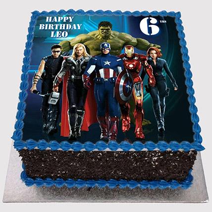 Marvel Avengers Photo Cake: Avengers Cakes