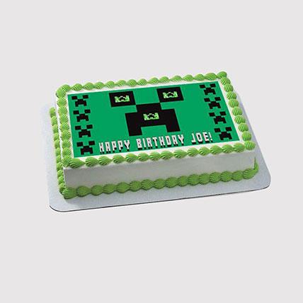 Minecraft Photo Cake: Minecraft Cakes