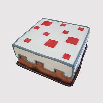 Minecraft Red Stones Cake: Minecraft Cakes