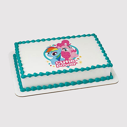 My Little Pony Photo Cake: My Little Pony Cakes