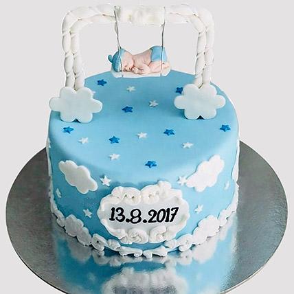 New Born Baby Designer Cake: Baby Shower Cakes