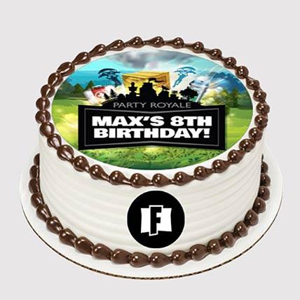 Party Royale Photo Cake: Fortnite Cakes