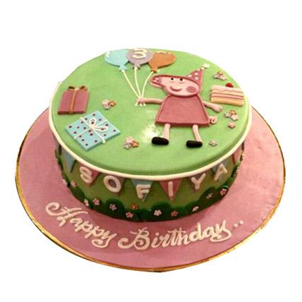 Peppa Pig Cake: Peppa Pig Cake