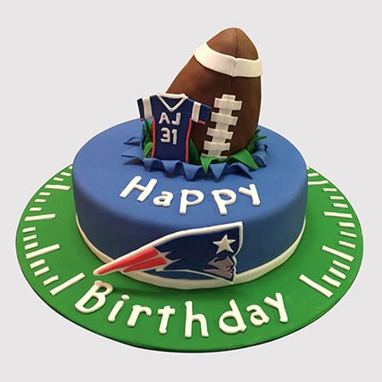 Rugby Ball Themed Cake: Football Cakes
